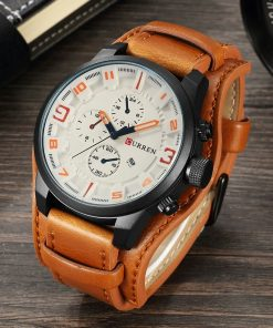 Curren Men Leather Watch