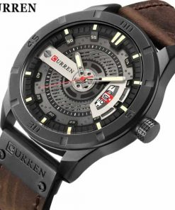 Carrian curren men wristwatch