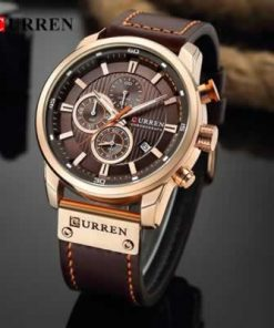 Curren Chronograph Men Wristwatch