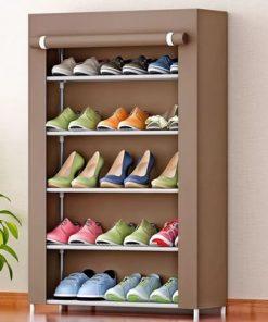 7 layer shoe rack
